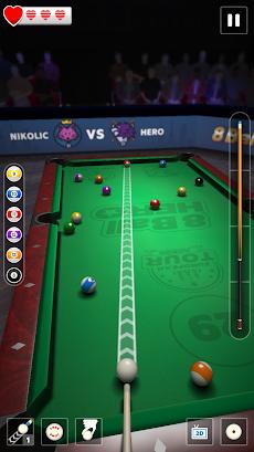 8 Ball Hero – Pool ビリヤード パズル ゲームのおすすめ画像1