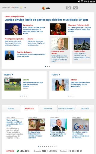 玩免費新聞APP|下載UOL | Notícias em Tempo Real app不用錢|硬是要APP