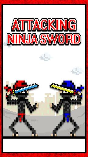Attacking Ninja Sword Duel