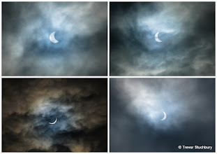 Photo: Partial Solar Eclipse, March 2015