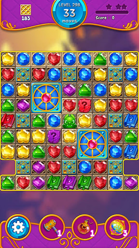 Jewel Witch - Best Funny Three Match Puzzle Game screenshots 2