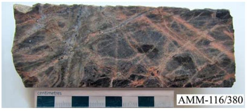 Биотит-кварц-калиевошпатовый метасоматит