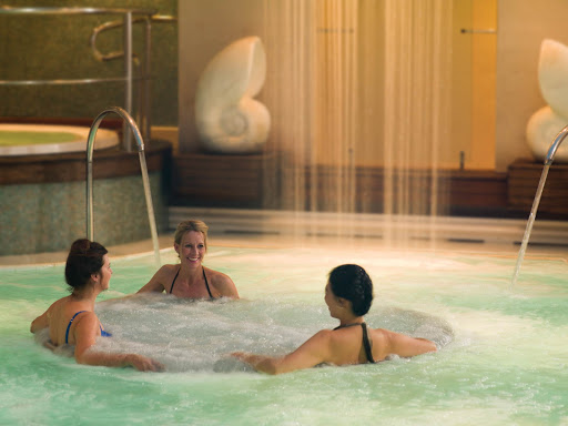 Head to the spa on your Cunard sailing for some R&R.