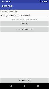 Download RAM Disk (ROOT REQUIRED) For PC Windows and Mac apk screenshot 1