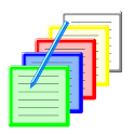 Hashed Note -In notification- icon