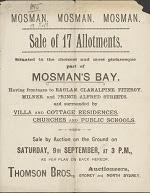 Land Sale 1893