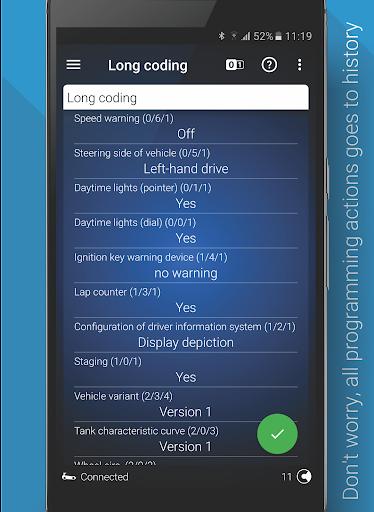 OBDeleven PRO car diagnostics app VAG OBD2 Scanner  screenshots 6