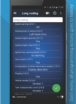 lataa OBDeleven PRO car diagnostics app VAG OBD2 Scanner by Voltas