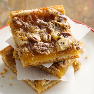Quick Crescent Pecan Pie Bars