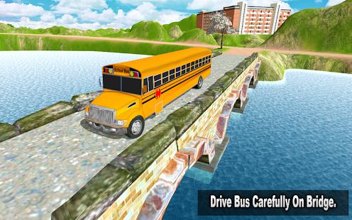 Modern School Bus Driving 3D Simulator - náhled