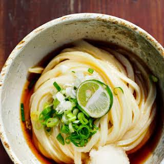 Easy Udon Noodle Soup.