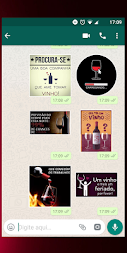 Figurinhas de vinho - WhatsApp WAStickerApps APK screenshot thumbnail 5