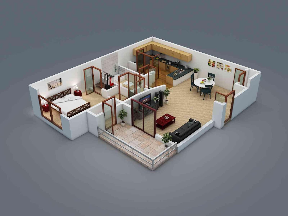 3d Home Floor Plan 3d floor plans are also a great way for architects realtors 3d home 3d Home Floor Plan Ideas Screenshot