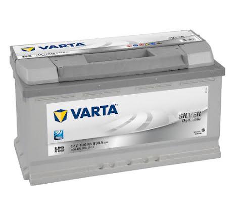 Startbatteri Varta Silver Dyn. 100Ah