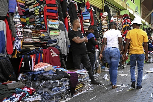 Foreign traders were on Monday forced to shut doors of their business premises after a mob went on a rampage, damaging and looting businesses.