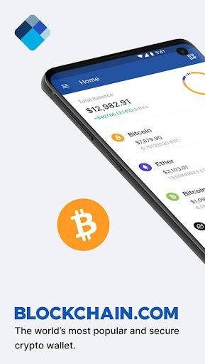 Blockchain Wallet. Bitcoin, Bitcoin Cash, Ethereum screenshots 1
