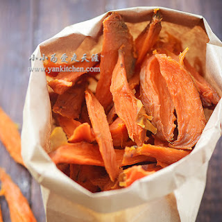 Dried Sweet Potatoes
