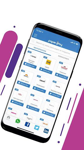 Paperboy: Newspapers & Magazines, ePapers App 1.49 screenshots 2