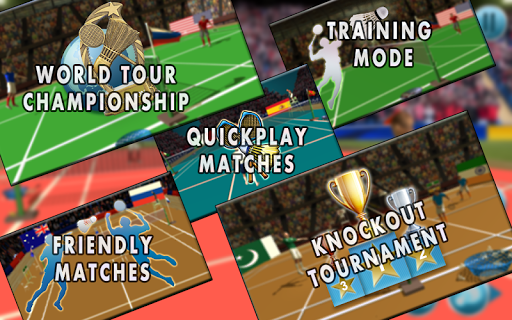 Badminton Premier League:3D Badminton Sports Game 1.3 gameplay | by HackJr.Pw 4