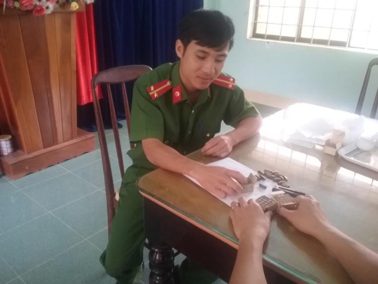 CAP. Trường Chinh tiếp nhận 65 viên đạn K59 và 01 hộp tiếp đạn