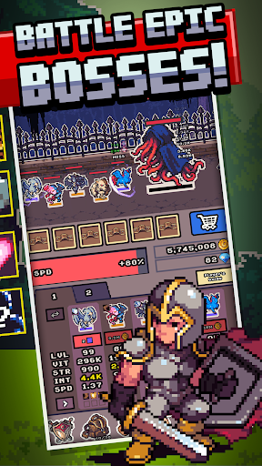 Idle Monster Frontier - team rpg collecting game 1.6.0 screenshots 5