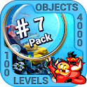 Pack 7 - 10 in 1 Hidden Object Games by PlayHOG icon
