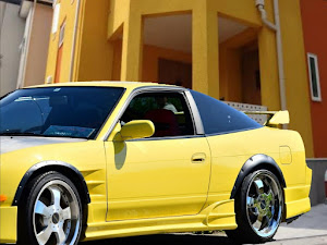 180SX RPS13のカスタム事例画像 新潟まっつ〜Class of Yellow-黄組さんの2020年07月05日09:06の投稿