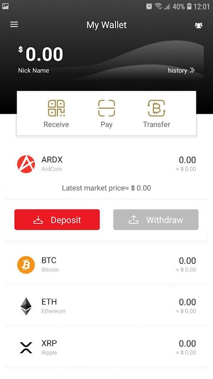 Alpha Wallet by Ard – (Android Apps) — AppAgg