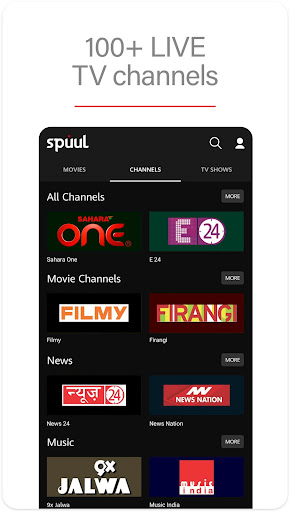 Spuul - LIVE TV & Movies  app download 2