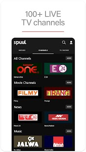 Spuul - LIVE TV & Movies Screenshot