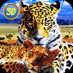 Leopard Family Simulator Icon