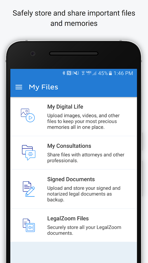 LegalZoom Estate Planning- screenshot