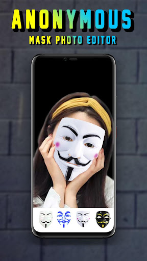 Anonymous Mask Camera - Hacker Mask 1.0.1 screenshots 2