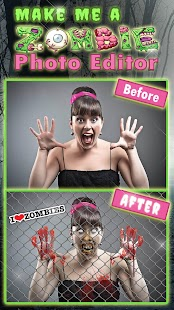 Make Me a Zombie Photo Editor ? Scary Masks Maker - náhled