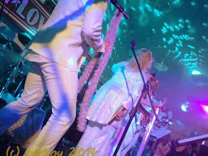 Photo: Wonderfully happy, dancing times at Vets Club, with Satin Love Orchestra. I am grateful for dancing friends and fun music in crowds of excited dancing people
