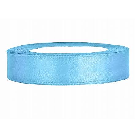 Satinband - Himmelsblå