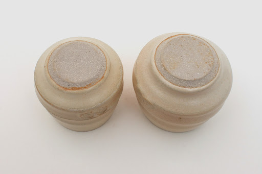 Gilles Le Corre Pair Ceramic Guinomi / Small Beakers