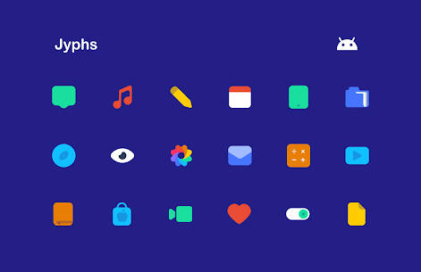 Jool:Jyphs Icon Pack (MOD, Paid) v1.13 1