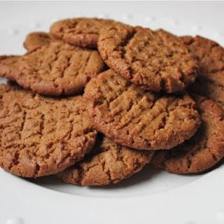 Gluten-Free Flourless Peanut Butter Cookies.
