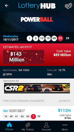 LotteryHUB - Powerball Lottery screenshot