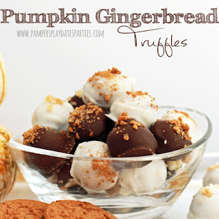 Chocolate Pumpkin Gingerbread Truffles Recipe