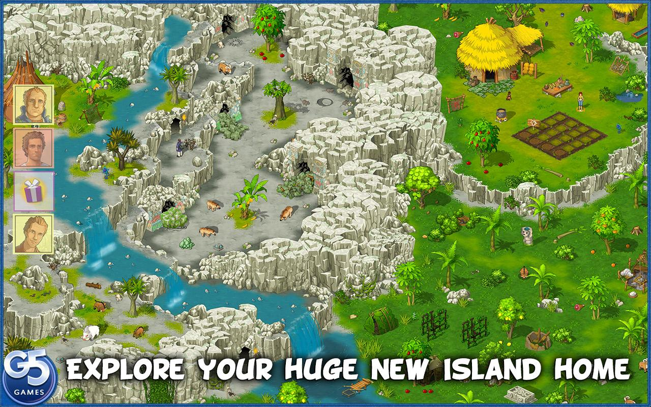 Island Castaway: Lost World®- screenshot