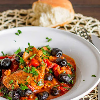 Pork and Olive Stew