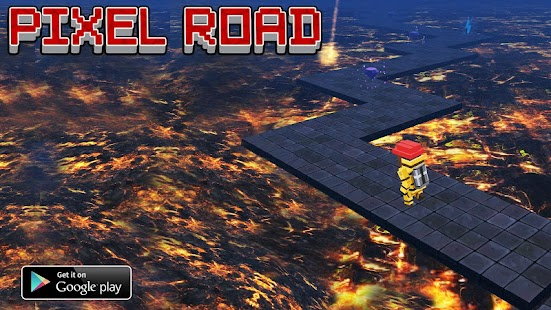 Pixel Road 3D - screenshot thumbnail