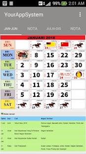 Kalender Baru 2018 - náhled