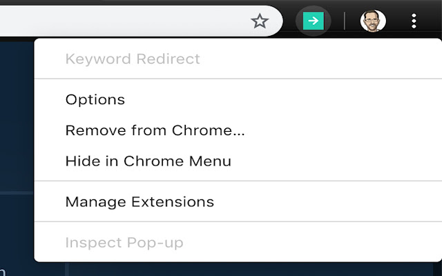 Keyword Redirect