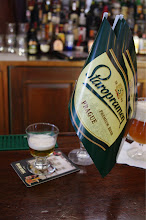 Photo: The last ounce of Staropramen's Czeck Lager at Bridgewater's Pub at 30th Street Station.