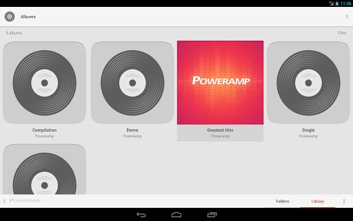 Skin for Poweramp Suru  screenshots 10