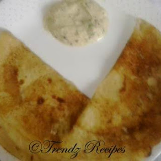 South Indian Instant Wheat Flour Dosa
