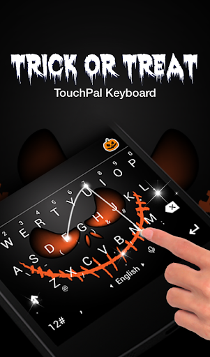 Trick or Treat Keyboard Theme Screenshot